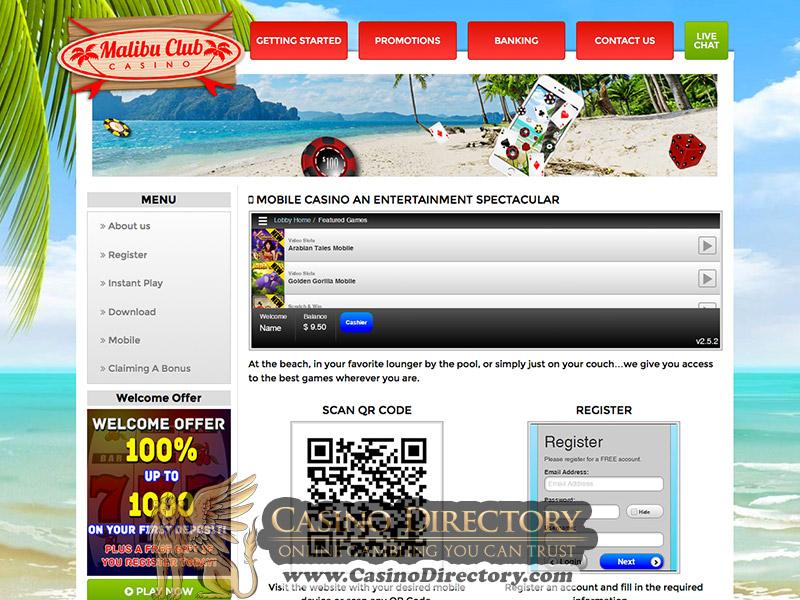 Malibu Club Casino Review – Online Casino Review