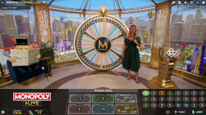 Evolution Gaming Monopoly game show